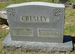 Frederick <i>Smith</i> Chesley