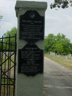 Pine Forest Cemetery