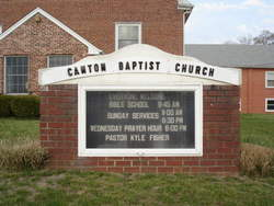 Canton Baptist Church Cemetery