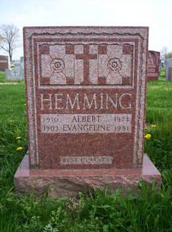 Evangeline <i>Benson</i> Hemming
