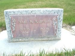 Pearl Malissa <i>Bell</i> Marshall
