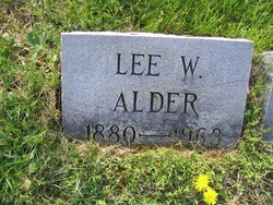 Lee W. Alder