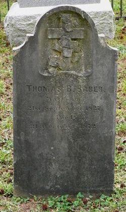 Lieut Thomas Bomberry Berry Baber, Jr