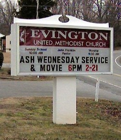 Evington United Methodist Church Cemetery