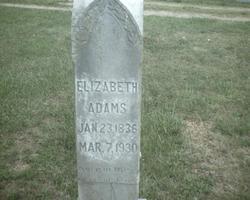 Louisa Elizabeth <i>Jordan</i> Adams