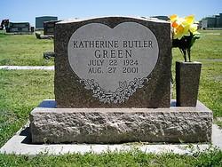 Katherine Elizabeth <i>Butler</i> Green