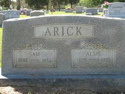Alsie Viola <i>Gentry</i> Arick