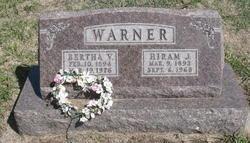 Hiram J Warner