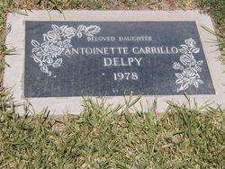 Marie Antoinette Toni <i>Carrillo</i> Delpy