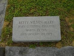 Betty <i>Wilson</i> Alley
