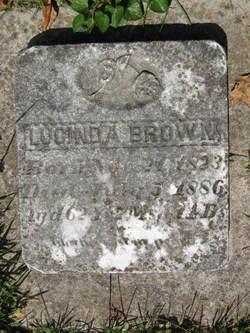 Salome Lucinda Lucinda or Lucy <i>Holder Rothrock</i> Brown