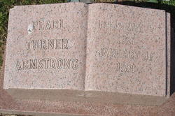 Pearl <i>Turner</i> Armstrong