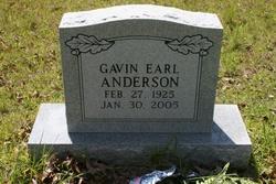 Gavin Earl Anderson