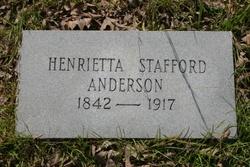 Henrietta Stafford Anderson