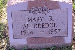 Mary R <i>Dennison</i> Alldredge