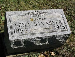 Magdalena Lena <i>Courtad</i> Strasser
