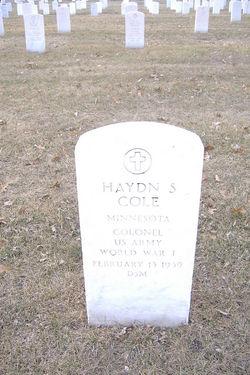 Haydn S Cole