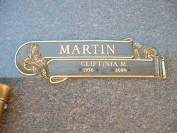 Cliftinia Marie <i>Young</i> Martin