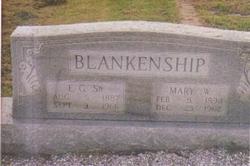Mary Willie <i>Wesson</i> Blankenship