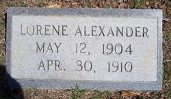 Lorene Alexander