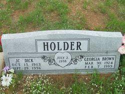 J C Dick Holder