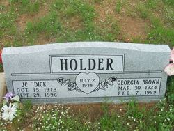 Georgia <i>Brown</i> Holder
