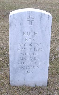 Ruth E. <i>Rye</i> Moeglein