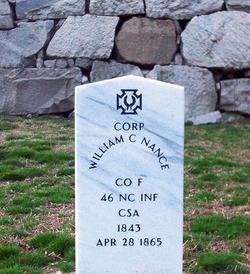 Corp William C. Nance