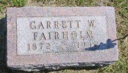 Garrett W Fairholm