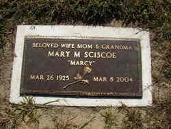 Mary Marcella Marcy <i>Harris</i> Sciscoe