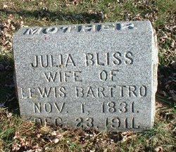 Julia <i>Bliss</i> Barttro