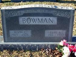 Alvin Columbus Bowman