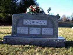 Verna <i>Webb</i> Bowman