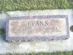 Ora <i>Turnbaugh</i> Evans