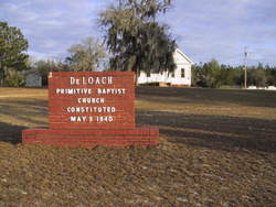 DeLoach Primitive Baptist Church Cemetery