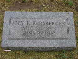 Icey Esther <i>Collier</i> Kersbergen