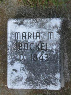 Maria Magdalena <i>Rothrock</i> Bockel
