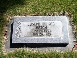 Joseph Wilson Hatch