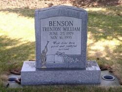 Trenton William Benson