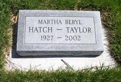 Martha Beryl Hatch-Taylor
