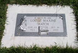 Louise Maxine <i>Paige</i> Hatch