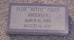 Elsie Bettie <i>Couey</i> Anderson