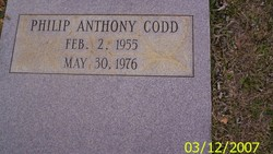 Phillip Anthony Tony Codd