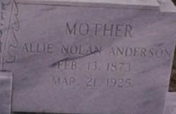 Allie Nolan <i>Anderson</i> Couey