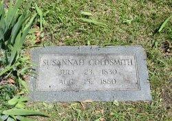Susannah <i>Harding</i> Goldsmith