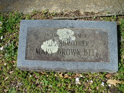 Mary <i>Brown</i> Bell