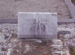 Nannie L. Dixon