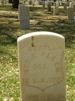 Corp George E Allen