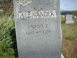 Frank Eugene Alexander