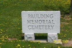 Paulding Memorial Cemetery